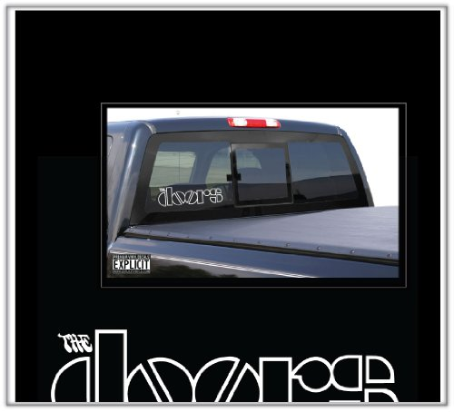 The Doors LARGE Wall Car Truck Boat Decal Skin - Class Mail Delivery International Usps Time First