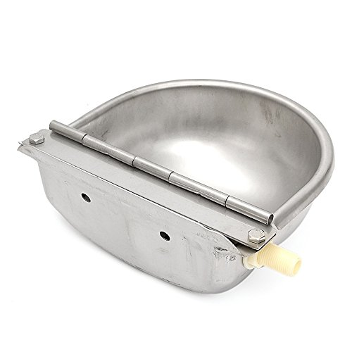 Techtongda Automatic Farm Grade Stainless Stock Waterer Horse Cattle Goat Sheep Dog Water(Item # 020209) by TECHTONGDA (Image #3)