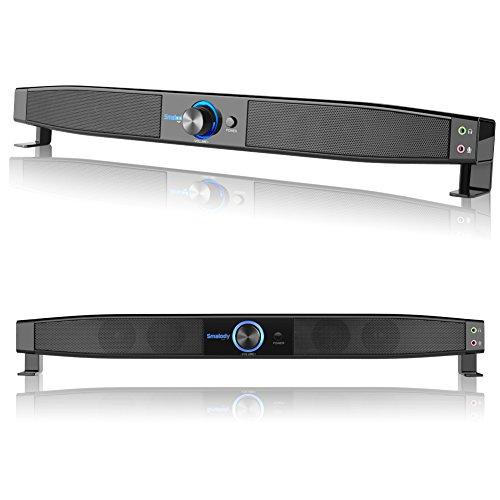 Smalody Portable USB HiFi Speakers for Desktop Computer Soun