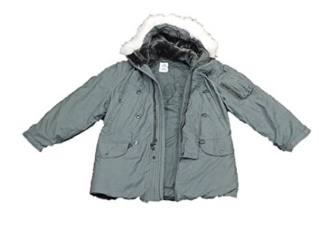 Amazon.com: Us Military Original Extreme Cold Weather Parka Water ...