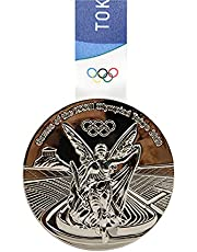 2020 Tokyo Olympics Medaille Replica Model Met Ketting Collection Souvenirs Voor Olympische Fans Studenten Awletes Awards Silver