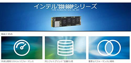 اسعار Intel 660p M.2 2280 2TB NVMe PCIe 3.0 x4 3D NAND Internal Solid State Drive (SSD) SSDPEKNW020T8X1