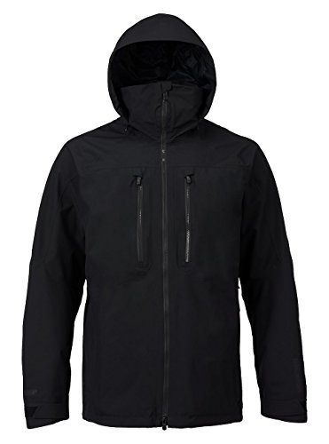 Burton Men's AK 2L Swash Jacket, True Black, Large (Tex Gore Rain Pant Tech)