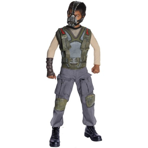 Batman Dark Knight Rises Child's Deluxe Bane Costume and Mask - Small
