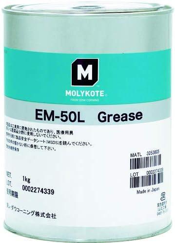 TRUSCO モリコート 樹脂・ゴム部品用 EM-50Lグリース 1kg EM50L10
