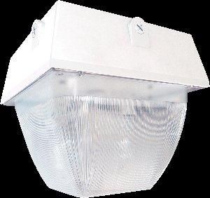 RAB Lighting VAN5HH150PSQW Vandalproof Van5 Metal Halide Lamp, ED17 Type, Aluminum, 150W Power, 14000 Lumens, 277V, White