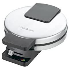 Cuisinart WMR-CA Round Classic Waffle Maker  Get ready for more of a good thing with the Cuisinart Classic Waffle Maker. Bake delicious waffles fast with this gleaming stainless steel appliance. Nonstick plates, indicator lights and a regulating ...