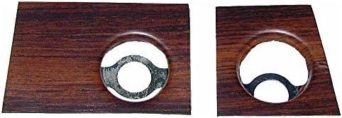 Dash Rosewood, Ecklers Premier Quality Products 33-180040 Camaro Radio Trim Plates