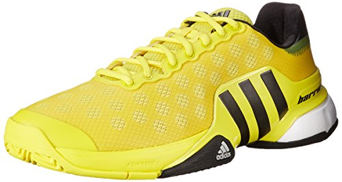 Adidas Performance barricada 2015 zapatillas de tenis, brillante amarillo / negro / blanco, 6,5 M co Bright Yellow/Black/White