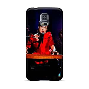 Samsung Galaxy S5 Fad17302Fhrs Custom Beautiful Red Hot Chili Peppers Pictures Shock Absorbent Cell-phone Hard Cover -AnnaDubois