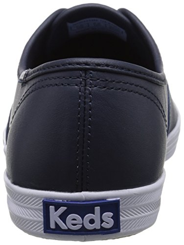 Women's Keds Leather leather navy Sneaker Champion 64Yfn4O