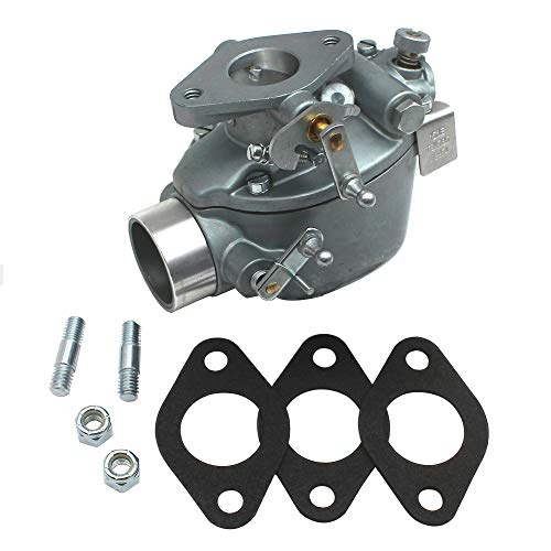 KIPA Carburetor For Ford 501 601 701 2000 4-CYLINDERS 1962-1964 611 621 631 641 651 661 671 681 741 771 2030 2031 2110 2111 2120 2130 Tractor B8NN9510A 312954 310746 Marvel-Schebler TSX765 1958-1964