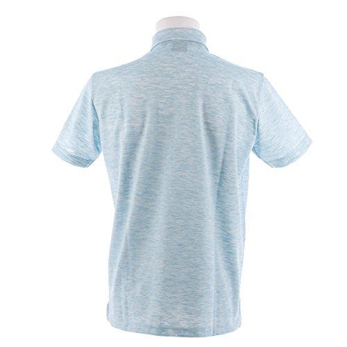 フィドラ(フィドラ) 半袖ボタンダウンポロシャツ FDA0316-TQG (ライトブルー/LL/Men's)