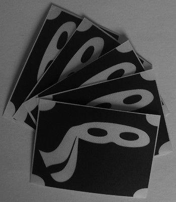Amazon.com: BODY GLITTER TATTOO 5x stencil ninja mask have ...