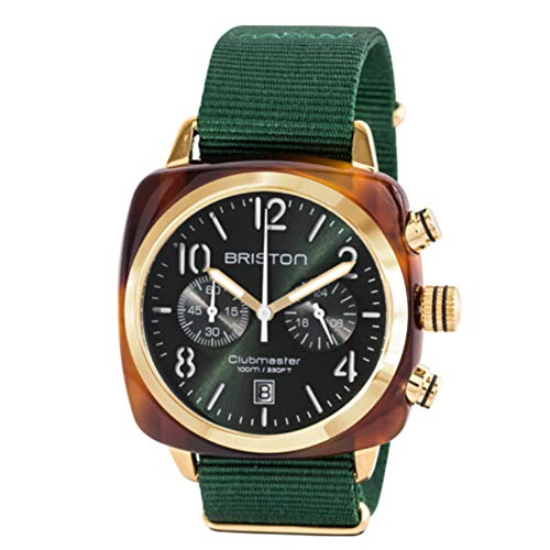 Man's Watch Chronograph Quartz Watches Luxury Watch - Japanese Quartz Movement Fashion Watch His or Hers Wristwatch for Men Women Lovers Romantic Gift Green dial Watch