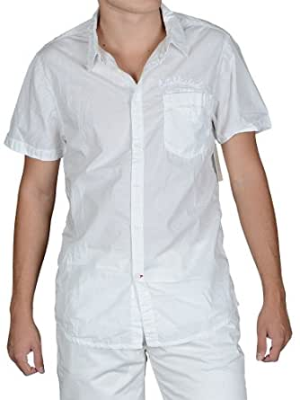 Guess - Camisa casual - para hombre blanco blanco medium