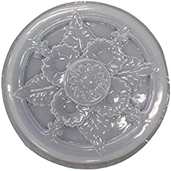 Celtic Design Stepping Stone Cement Plaster or Concrete Mold 1089 Moldcreations