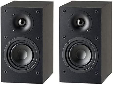 Paradigm Monitor SE Atom Bookshelf Speaker in Matte Black Pair