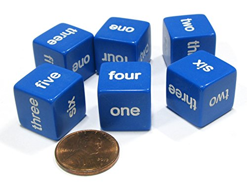 word number dice - 6