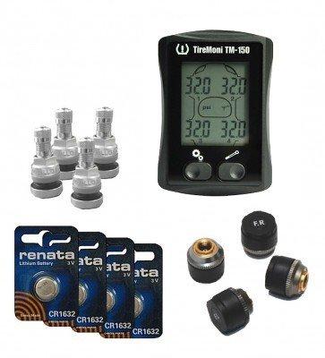 TireMoni Sistema di Controllo Pressione Pneumatici TM 150 Pacco Risparmio tpm Technology Products Marketing GmbH