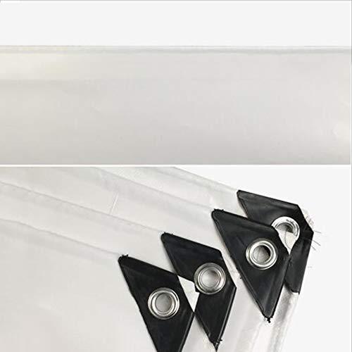 Dongyd Planen UV-Plane Regenfestes Tuch Wasserdichter Sonnenschutz Sonnenschutz Sonnenschutz PVC-Tuch Parkhaus Tuch Weiß (größe   5  7m) B07PMC46Q8 Zeltplanen Vollständige Spezifikationen 3bf196