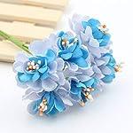 2Bunch-Silk-Artificial-Rose-Flowers-Bouquet-Wedding-Decoration-Paper-Flower-Flower-BallWhite