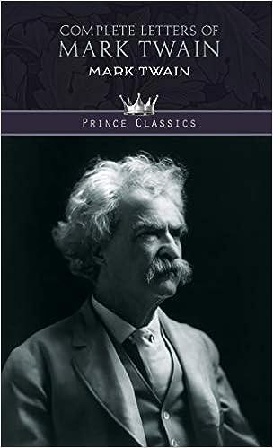 Complete Letters of Mark Twain [EN] - Mark Twain