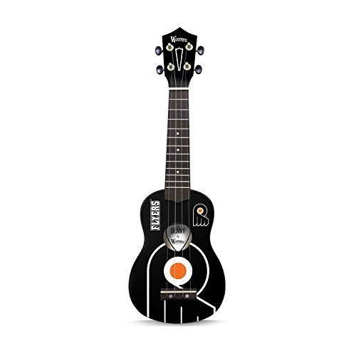 Woodrow Guitar by The Sports Vault NHL Philadelphia Flyers Ukulele, Second Generation, Red, 21