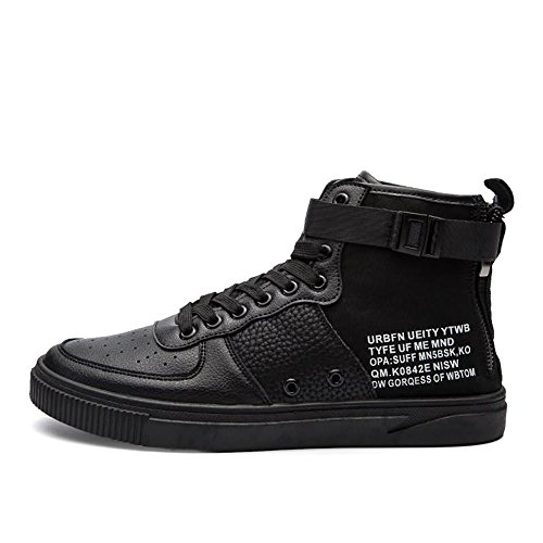 amp;Baby da Sneaker alto Nero tinta di moda EU Sunny Dimensione unita Bianca con tacco 40 all'abrasione uomo Resistente Color pwxFCEq