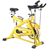 New Indoor Exercise Bike w/ 33 lb Flywheel Cycle Cardio Health Fitness MTN Gearsmith
