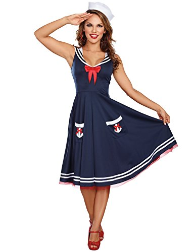Women's All Aboard Costume