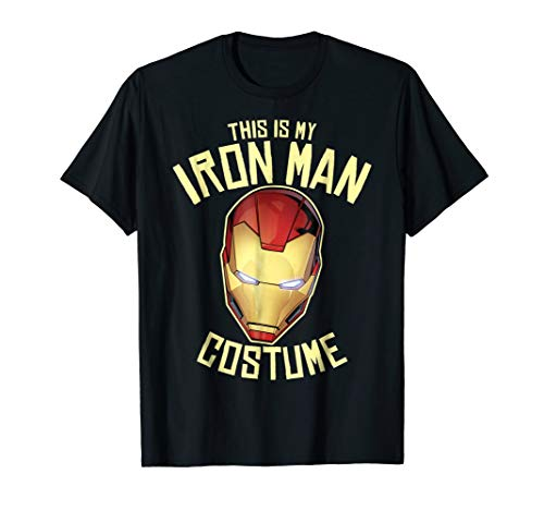 Marvel Avengers Iron Man Halloween Costume Graphic T-Shirt -