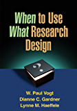 When to Use What Research Design
