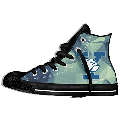 Fashion Product Yale Bulldogs Alternate High-top Lace Up Canvas Shoes