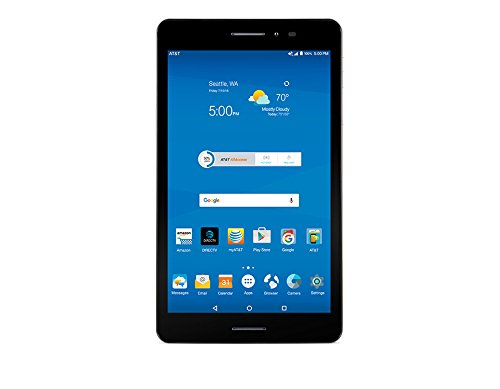 ZTE Trek 2 8'' tablet HD K88 AT&T 16GB Wifi 4G-LTE Android 6.0 (Marshmallow) by ZTE
