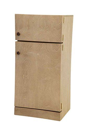 (Amish Buggy Toys Kid's Wooden Play Refrigerator CPSIA Kid Safe Finish, Harvest)