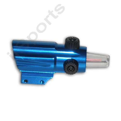 Blue .22 Pellet Paintball Airsoft bb Combat OEG Red Dot Armson style Gun (Daisy Red Dot)