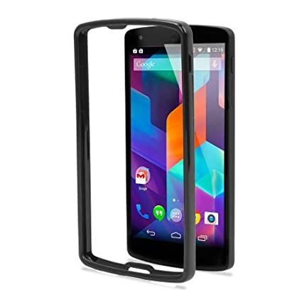 new arrival fab7a b8a86 Generic Backless Metallic Bumper Case For Sony Xperia: Amazon.in ...