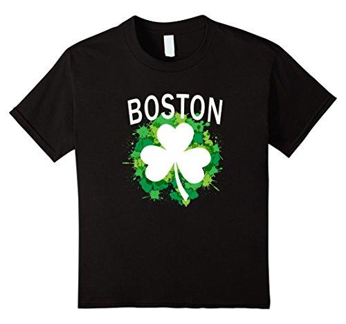 Kids Boston Irish Shamrock Clover Splashes gift St. Patrick's Day 4 - Boston Store Kids