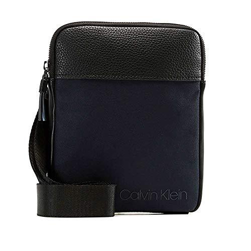 - Calvin Klein Vault Flat Crossover, Men's Shoulder Bag, Black (Navy), 3x20x25 cm (B x H T)