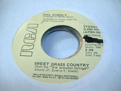 God Made Grass (PHIL EVERLY 45 RPM Sweet Grass Country / God Bless Older Ladies (For They Made Rock & Roll))