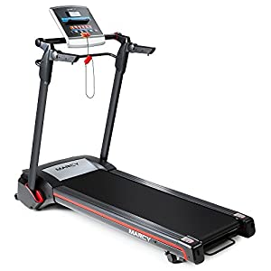 Marcy Easy Folding Motorized Treadmill / Pre Assembled Electric Running Machine JX 651BW