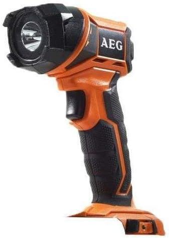 AEG 49324511644932451164 Linterna 18V cabeza rotativa naranja