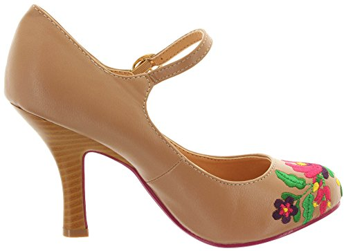 Court Shoes Dancing Women's Days Frappe TqZEOf