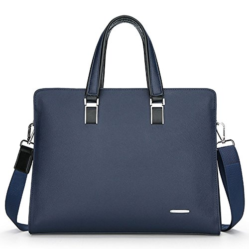Business 2018 Pu Shoulder Bag Leather Men's Blue Commuter Waterproof 3099 Tote Jn Lightweight s Diagonal Popular TwqfpAz4