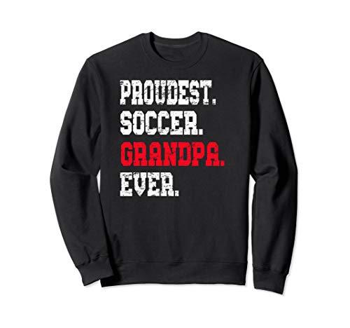 Custom Soccer Grandpa Sweatshirt, Soccer Futbol Shirt