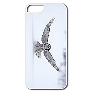 IPhone 5/5S Shell, Northern Hawk Finland Cases For IPhone 5S - White Hard Plastic