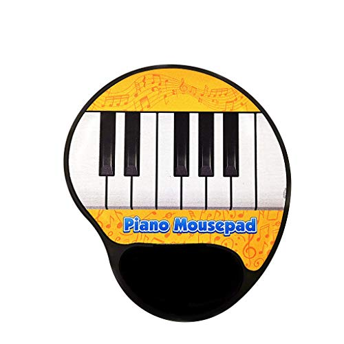 (Redvive Top Play The Piano Jingle Keys Pattern Music Mouse Pad Electric Toy Gift )