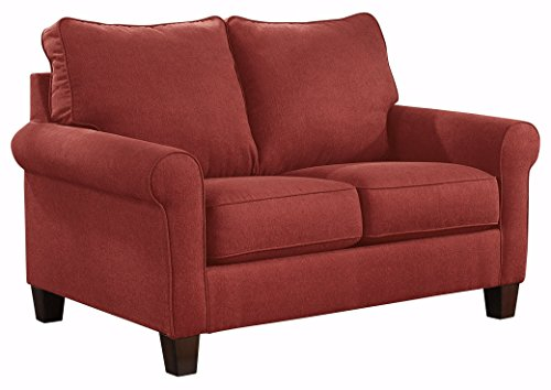 Ashley Furniture Signature Design - Zeth Sleeper Sofa - Twin Size - Easy Lift Mechanism - Contemporary Living - Crimson Red