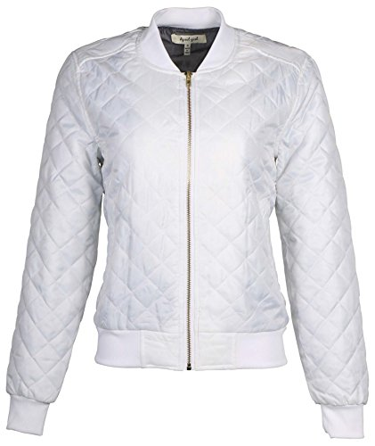 white quilted jacket - 3